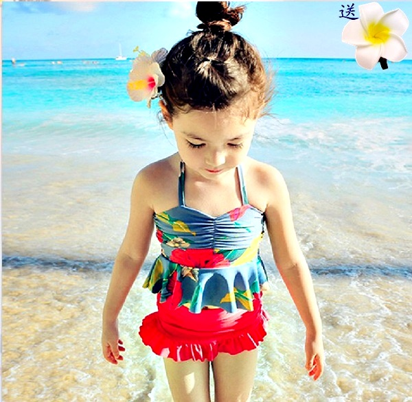 Детский купальный костюм девочки плавать одежда в больших детей бикини трещина юбка плавание женщины одеваются ребенок принцесса ребенок