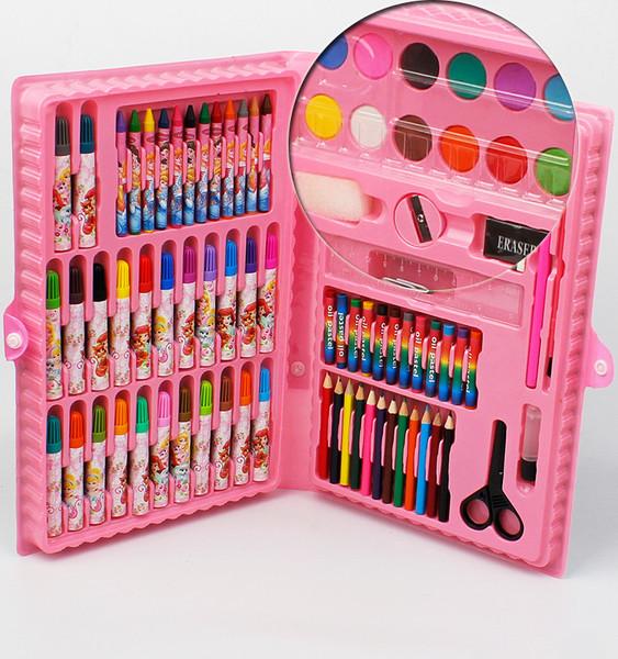 подарочный набор живопись живопись игрушка щетка цветной карандаш акварель ученик подарок статьи