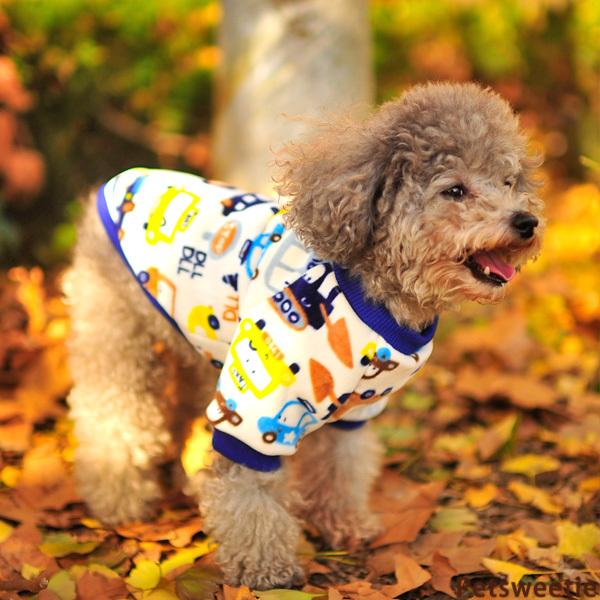 Машину круглый вырез рубашка собака одежда зима ноги почетным гостем собака соотношение медведь домашнее животное тедди щенок жилет осень и зима