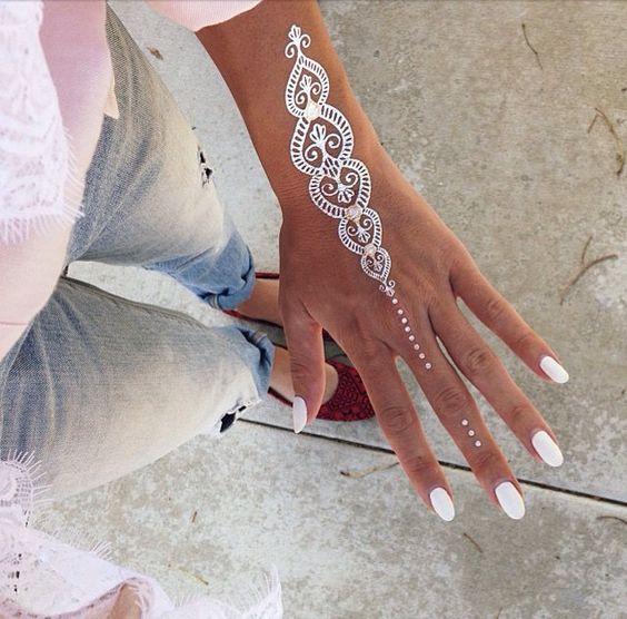 2015 новый китайский иеорглиф ля женских имён белое кружево тату паста кружево паста водонепроницаемый свадьба тату паста
